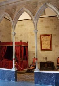 Habitación de la Duquesa en el Palacio Ducal de Gandía