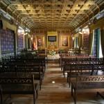 Salón de plenos Casas consistoriales